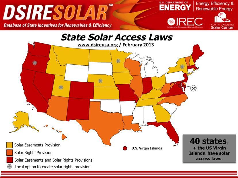 Solar Access Map