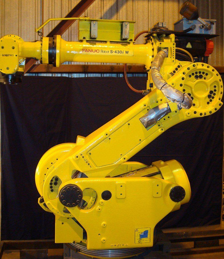 3-axis factory robot